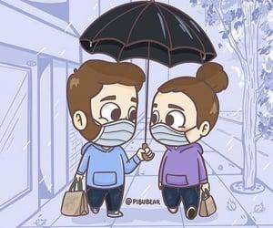 amor, pareja, and animado image