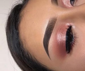 beauty, make up, and eyebrows image