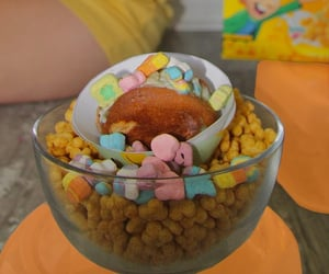 cereal, dessert, and marshmallows image