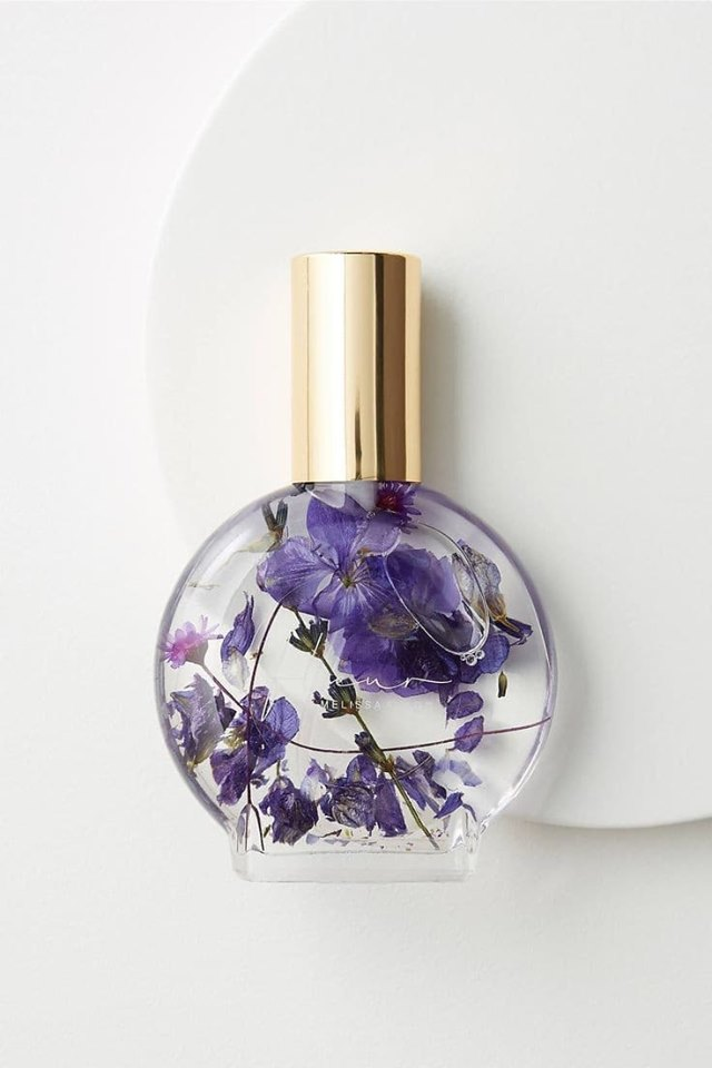article, perfume, and flower image