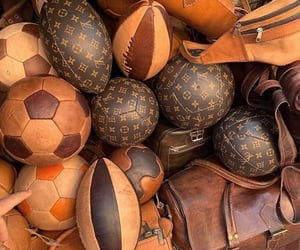 ball, balls, and beige image