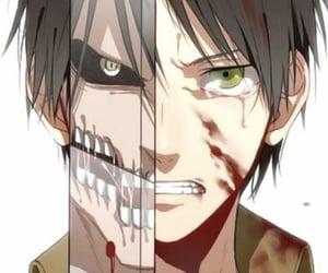 anime, titan, and attackontitan image