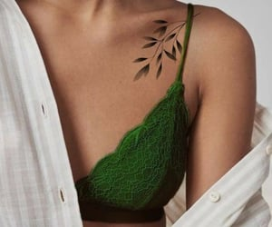 tattoo and green image