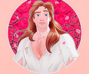 adam, prince, and beauty & the beast image
