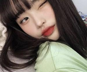 asian, makeup, and selfie image