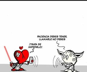 cartoon, paciencia, and frases español image