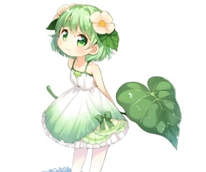 anime, bare feet, and cute image