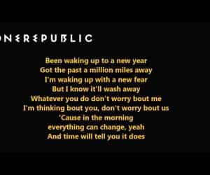 2020, Lyrics, and song image