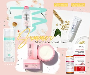 acne, skincare, and acne prone image