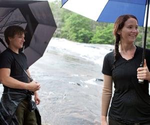 the hunger games, Jennifer Lawrence, and josh hutcherson image