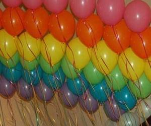 balloons, birthday, and memories image