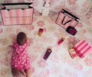 baby, pink, and victorias secret image