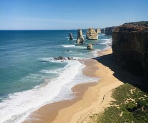 australia, blue, and Great Ocean Road image