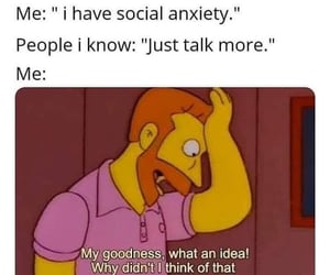 anxiety, funny, and haha image