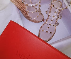 beautiful, shoes, and Valentino image