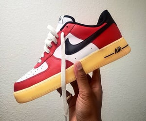 fashion, sneakers, and red image