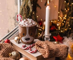 christmas, aesthetic, and candle image
