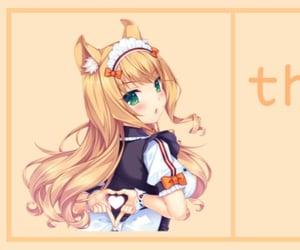 aesthetic, anime, and orange image