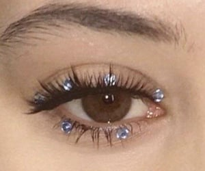 beauty, inspo, and lashes image