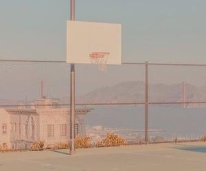 Basketball, city, and court image