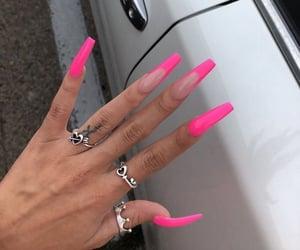 fake nails, fashion, and lifestyle image