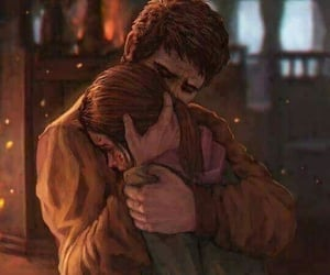 the last of us and couple image
