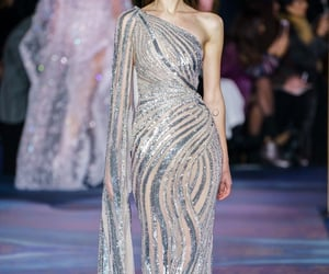 Couture, fashion show, and dress image