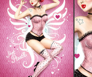 Pin Up and illustration image