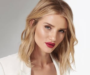 beauty, makeup, and rosie huntington-whiteley image