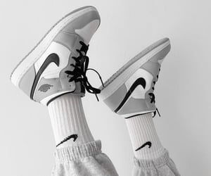 classic, nike, and shoes image
