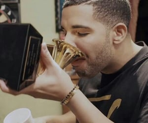 Drake, grammy's, and champagne papi image