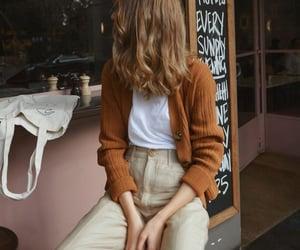 fashion, autumn, and hair image