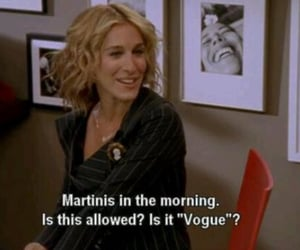 sex and the city, Carrie Bradshaw, and martini image