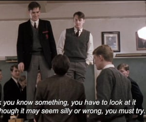 dead poets society, frases, and quotes image