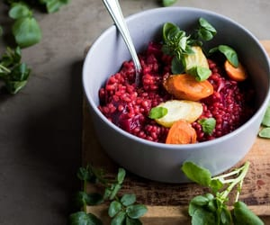 carrot, lunch, and risotto image