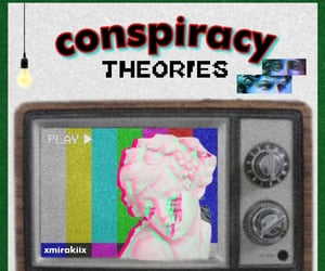 aesthetic, Conspiracy theories, and fashion image