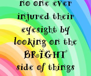 bright, looking, and quote image