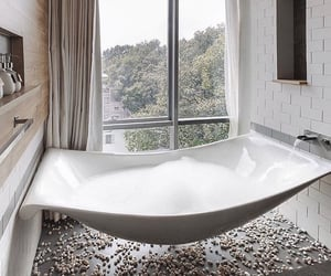 baths, home, and white image