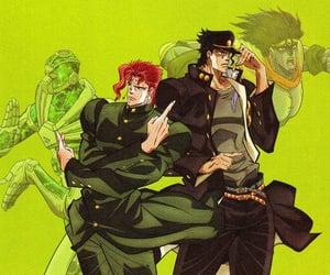 anime, jjba, and stardust crusaders image