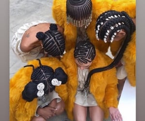 African, authentic, and braids image