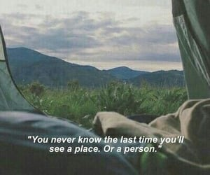 quotes, places, and sad image