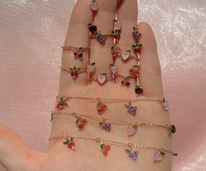 grapes, strawberry, and bracelets image
