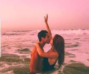 beach, cute couples, and goal image