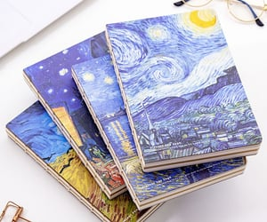 diary, notebook, and painting image