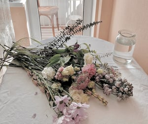 bouquet, floral, and flowers image