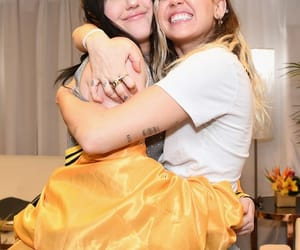 celebrities, sister, and miley cyrus image