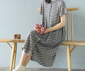etsy, shirt dress, and casual dress image