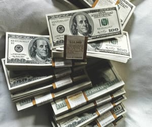 money, dollar, and green image