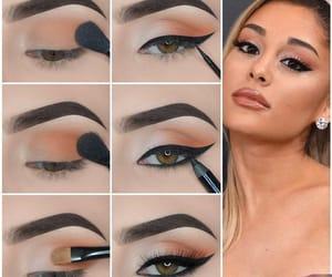 beautiful, eyeshadow, and cat eye image