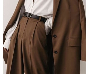 apparel, autumn, and brown image
